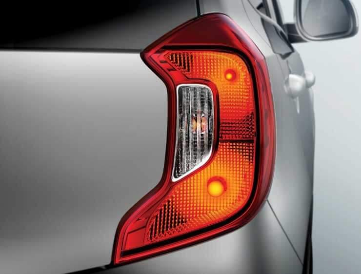 Luces tracera en forma de C