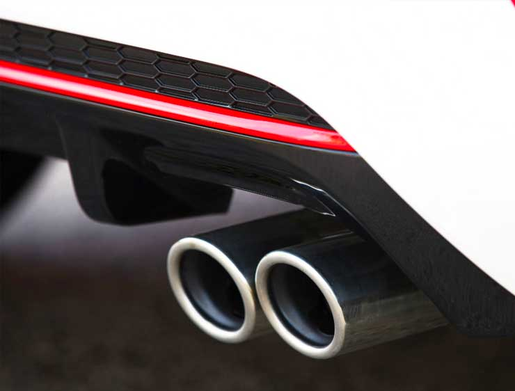Exosto deportivo cromado Kia Picanto GT