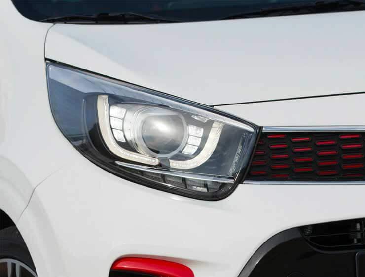Luces de conducción diurna y posición Led Picanto GT