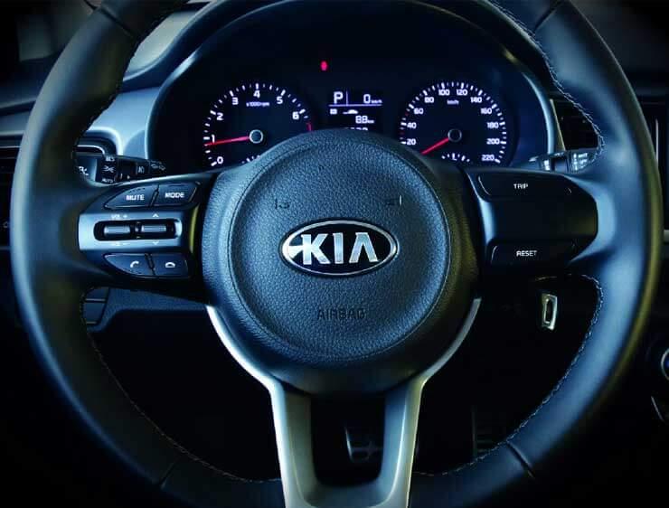 Controles del timón Kia Rio Hatchback