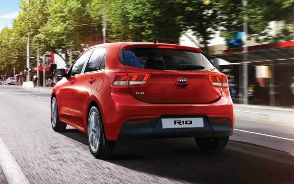 Diseño exterior Kia Rio Hatchback