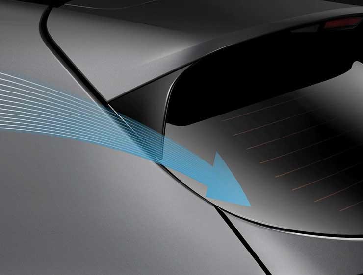 Mejoras aerodinámicas Kia Sportage Híbrida
