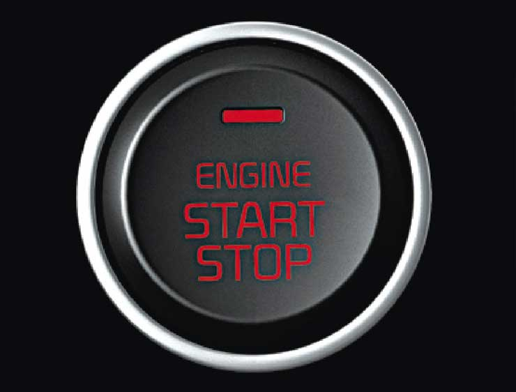 Botón de encendido Sportage