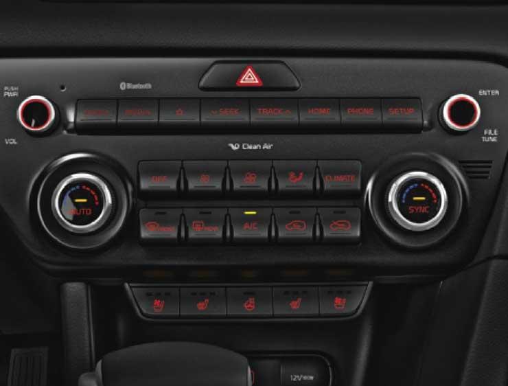 Control aire acondicionado Sportage