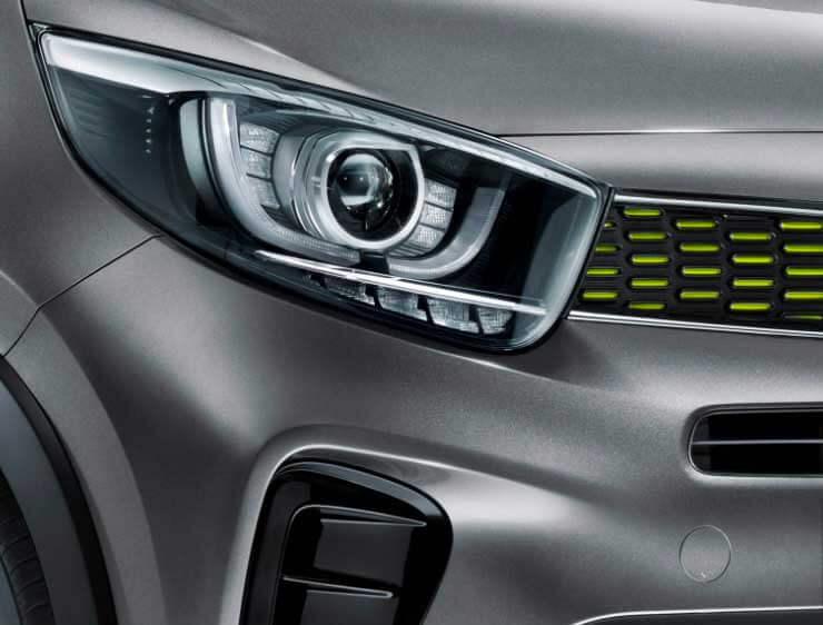 Luces de Conducción diurna y posición LED Kia Picanto X line