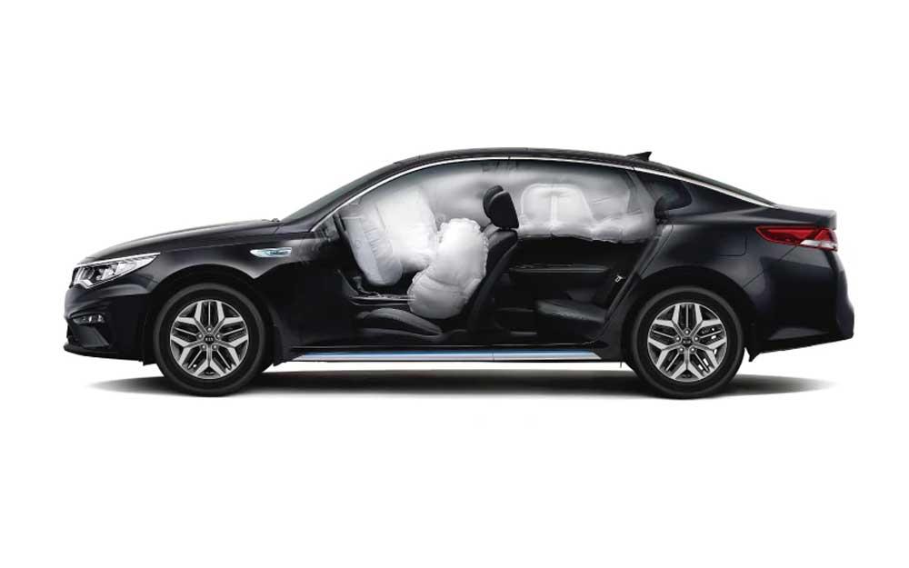 6 Airbags Kia Optima Híbrido