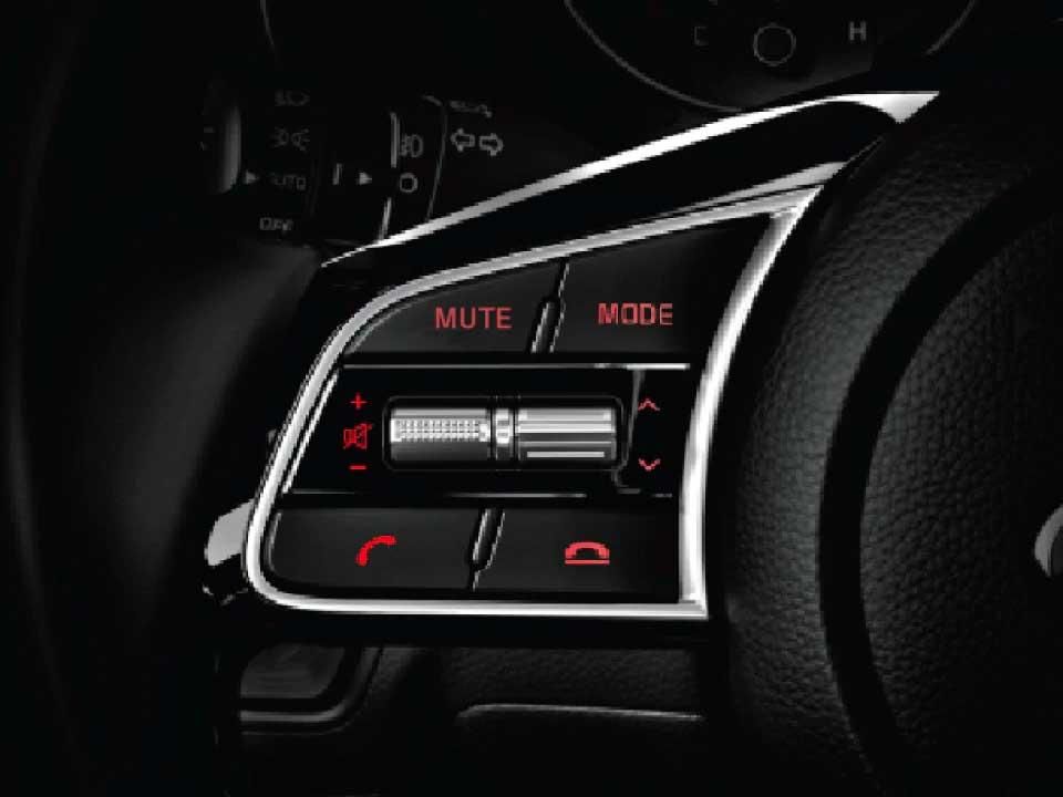 Control de audio Kia Cerato Vivro