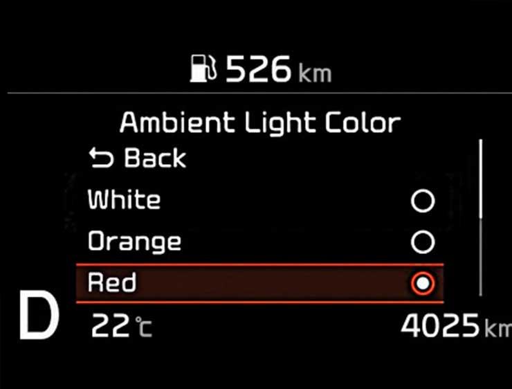 Iluminación Kia Optima Híbrido
