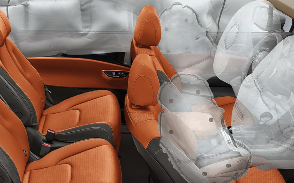 Kia Carnival Airbags